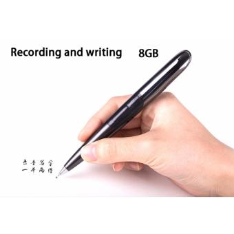 8GB Rechargeable Mini Digital Voice Recorder Pen Real Writing AudioRecorder Playback Function Audio Plug MP3