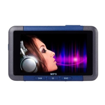 8GB Slim MP3 MP4 MP5 Music Player With 4.3'' LCD Screen FM Radio Video Movie Silver - intl