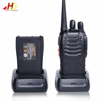 8PCS Baofeng BF-888S 5W 16Ch 400-470MHz Interphone Two-Way RadioWalkie Talkie BF888S (Black) - 2