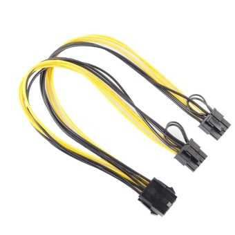 8Pin to Graphics Video Card Double PCI-E 8Pin(6Pin+2Pin)Power Supply Cable - intl Price Philippines
