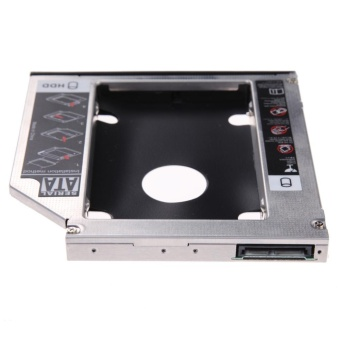 9.5mm Universal SATA 2nd HDD SSD Hard Drive Caddy for CD/DVD-ROMOptical Bay - Intl - intl - 5