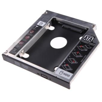 9.5mm Universal SATA 2nd HDD SSD Hard Drive Caddy for CD/DVD-ROMOptical Bay - Intl - intl - 4