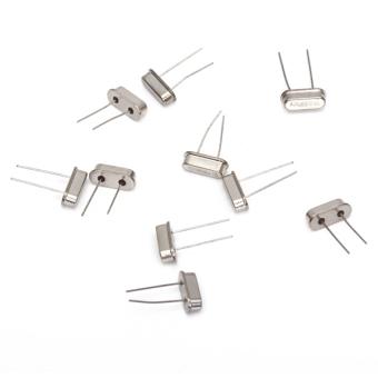 A 10pcs 2 Pin 16MHz Crystal Oscillator HC-49S