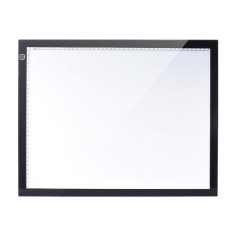 A3 47 * 37cm 21.4 inch LED Artist Stencil Board Tattoo Drawing Tracing Table Display Light Box Pad LED Copy Board Intelligent Touch Control 3 Adjustable Brightness Levels with Multifunction Holder - intl - 2
