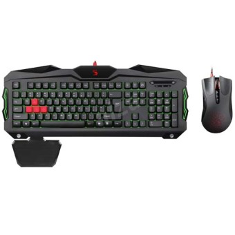 A4Tech Bloody B2100 Wired Gaming Keyboard and Mouse - 2