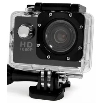 A7 Ultimate Sports Action Cam Under Water Extreme (Black)