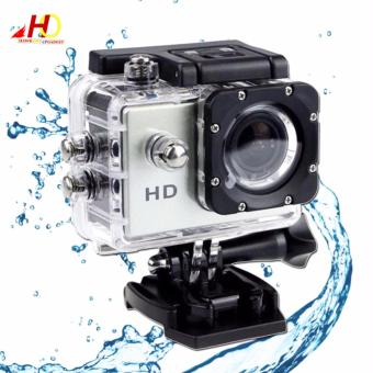 A7 Ultimate Sports Action Camera Under Water Extreme (Silver)