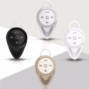 A9 Mini Wireless Stereo Music Bluetooth CSR4.0 Headset Hand-FreeEarphone (Gold) - 4