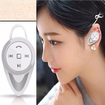 A9 Mini Wireless Stereo Music Bluetooth CSR4.0 Headset Hand-FreeEarphone (Gold) - 3