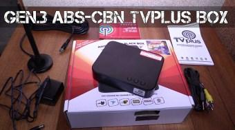 Abs-Cbn Tv Plus Black Box - 3