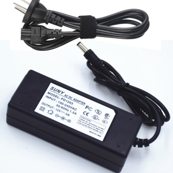 AC 100-240v to DC 12V 3A 12V3A Power Supply Adapter Switching forCCTV Cameras DVR NVR LED Strip DC 5.5x2.5mm DC Plug and 2.1mm ULListed FCC - intl