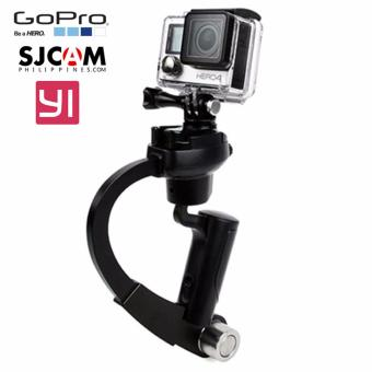 Accessories FOR GoPro Gimbal Steadicam Curve Handheld StabilizerFor GoPro Hero 4 3 Plus 3 2/1/SJCAM Camera Price Philippines