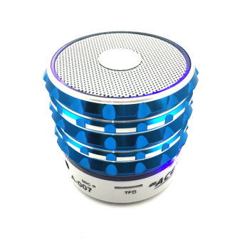 Ace A-007 Shining Mini Bluetooth speaker with Radio/USB (Blue) - picture 2