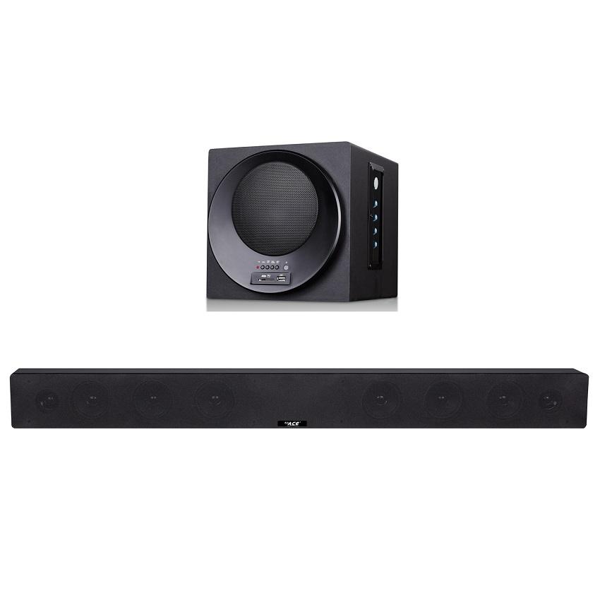 Ace Bt K008 Surround Sound Home Theater Soundbar Withbluetooth Black