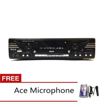 Ace MIDI-1100 Karaoke DVD Player with FREE Ace-504 Microphone