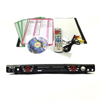 Ace MIDI-5872 Slim Karaoke/DVD Player Set (Black)