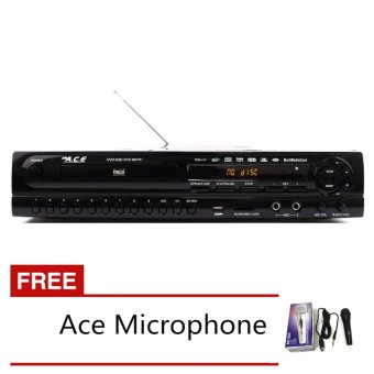 Ace MIDI-9907 All In One Karaoke/DVD Player with Free Ace-504Microphone Price Philippines