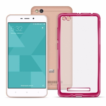 Ace Soft TPU Jelly Case v.1 for Redmi 4A (Pink Clear)