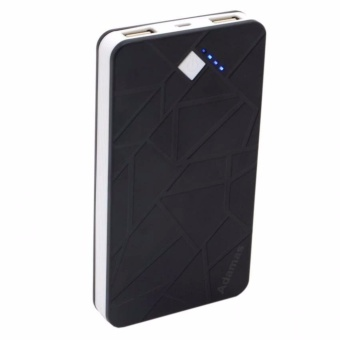 Adamas 20000mah Power Bank Zigzag Design (Black)
