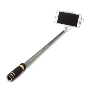 ADAMAS 30,000mAh Stainless Steel Power Bank with Flashlight (Black)With Mini-JJ Foldable Selfie Stick Monopod (Black) - 4