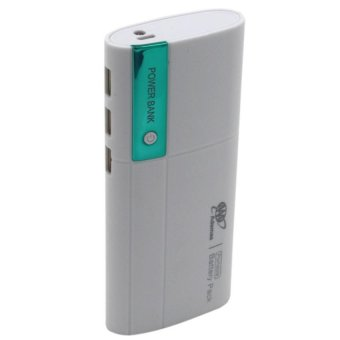 Adamas AAA 20000mah Power Bank Portable Power Battery Pack withFlashlight (White/Green)