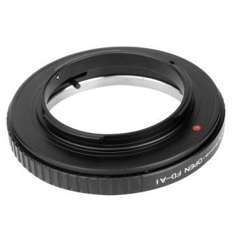Adapter Ring for Canon FD FL Lens to Nikon F Mount Camera D60D5100D5000