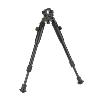 "Adjustable 8"" to 10"" Height Retractable Clamp on Barrel Bipod - picture 2"