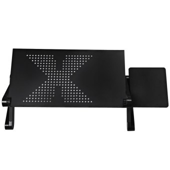 Adjustable Folding Collapsible Laptop Notebook PC Desk Table StandPortable Bed Tray - Intl - 2