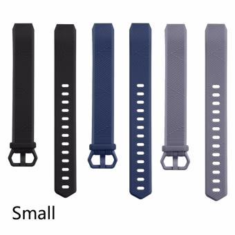 Adjustable Replacement Wristband Strap for Fitbit Alta HR(3pack) - intl