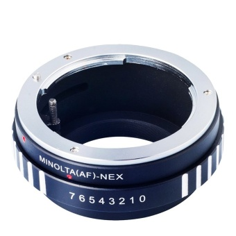 AF-NEX Lens Mount Adapte for Sony Alpha Minolta AF A-type Lens toSony NEX E-Mount Camera - intl