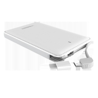 Airbornetech Veger V58 5600mah Power Bank (White) - 3