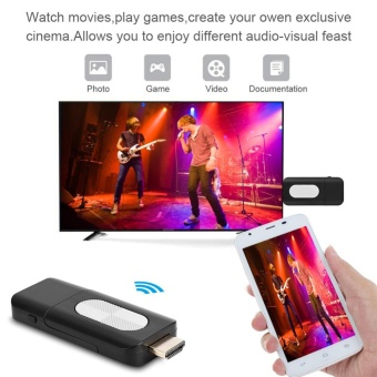 Airplay WiFi Display Dongle Screen Mirroring Adapter For Android IOS Projector - intl