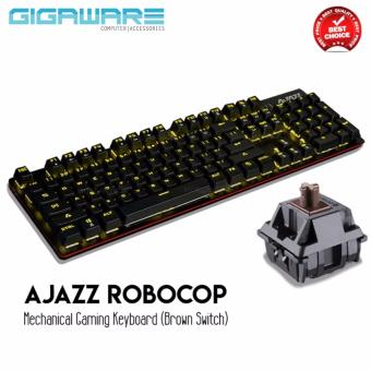 AJAZZ Robocop Mechanical Gaming Keyboard (Brown Switch)
