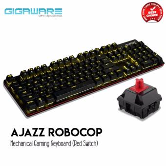 AJAZZ Robocop Mechanical Gaming Keyboard (Red Switch)