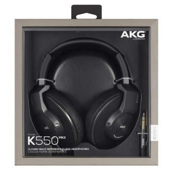 AKG K550 MKII Premium Foldable Closed Back Over-Ear Headphone - intl