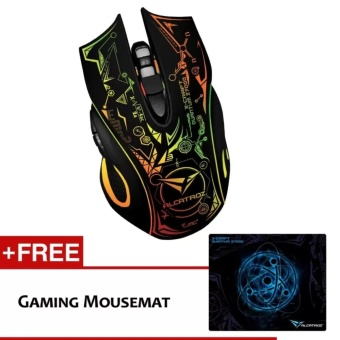 Alcatroz Gaming Mouse X-craft Quantum Z7000 with Free X-CraftPro-Gaming Mousemat Price Philippines