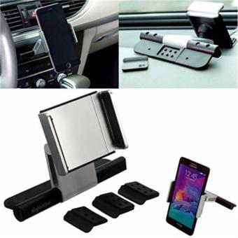 Alightstone Universal 360? Rotation CD Slot Car Phone Mount Holder (Silver) - 5
