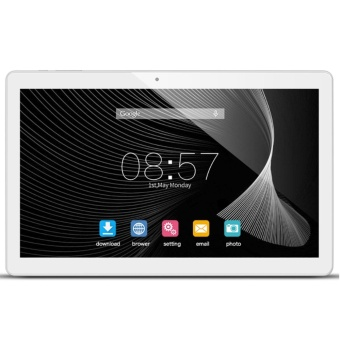 ALLDOCUBE iPlay 10 10.6 inch 1920 x 1080 IPS Display Screen Tablet,Cube Quad Core MTK MT8163 64-bit 1.3Ghz, 2GB RAM, 32GB ROM, Android6.0, White Silver - intl