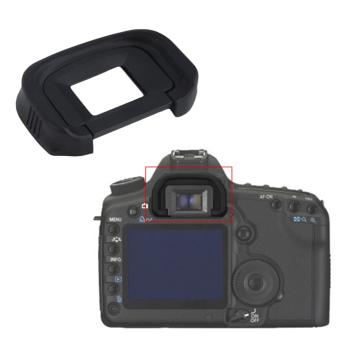 Allwin Viewfinder Eyepiece Rubber Eyecup EG For Canon EOS 1DS MarkIII 5D 6D 7D (Black) - intl - 5