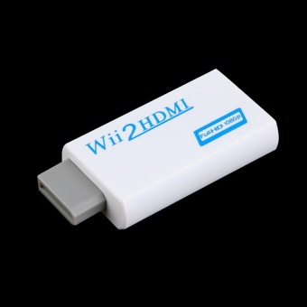Allwin Wii To HDMI 1080P Upscaling Converter Adapter with 3.5mmAudio Output - 3