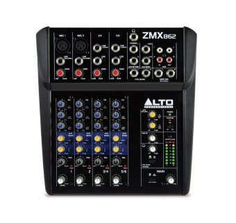 Alto ZMX862 6-Channel Professional Mixing Console