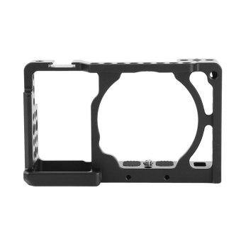 Aluminium Alloy Camera Cage Stabilizer Rig Protective Case Cover For Sony A6000 A6300 NEX7 - intl