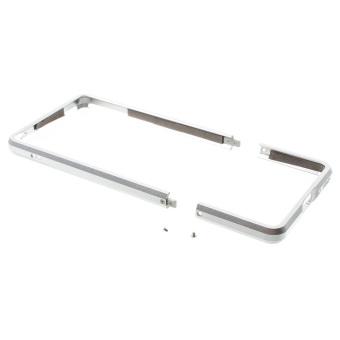 Aluminum Alloy Impact Protection Bumper Cover for Sony Xperia XA / Dual - Silver - intl - 3