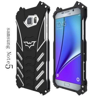 Aluminum Metal Frame Cover Case For Samsung Galaxy Note 5 (Black) -intl