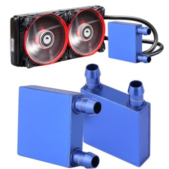 Aluminum Water Cooling Block Liquid Water Cooler Heat Sink for CPU Industry Radiator - intl