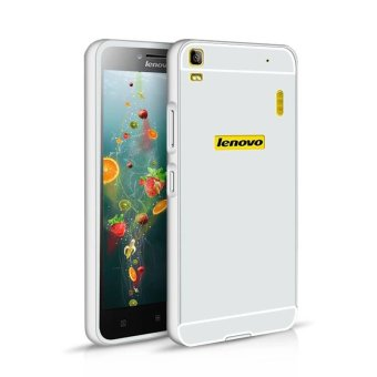 Alumium Metal Frame PC Back Case for Lenovo K3 Note (Silver)