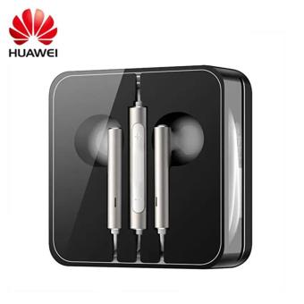 AM116 In-Ear Headphones with Remote and Mic for Huawei Phones(Light Golden) 3.5mm Earbuds