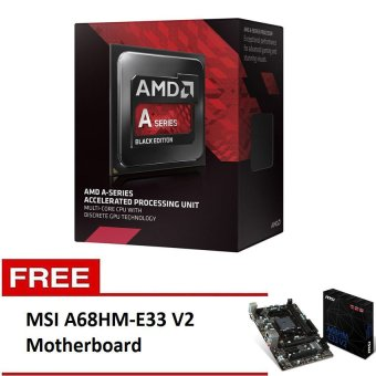AMD A6-7400 Processor with Free Asus A68HM-K Motherboard