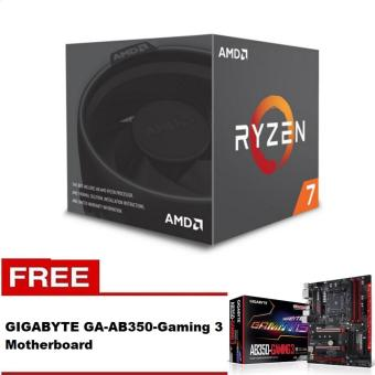 AMD Ryzen 7 1700 8 Core AM4 Processor with FREE GigabyteGA-AB350-Gaming 3 Motherboard Price Philippines