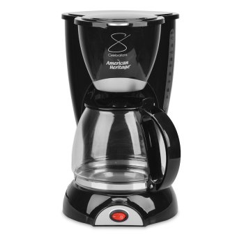 American Heritage 10-12 Cups COFFEE MAKER AHCM-6110 (Black)